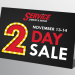 Two Day Sale Nov 13-14