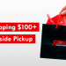 free shipping over $100 plus curbside pickup