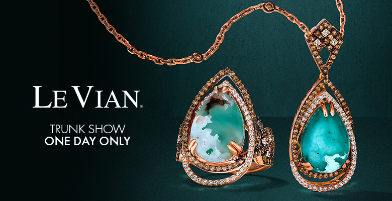 le vian trunk show - one day only