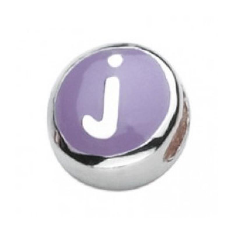 J initial bead