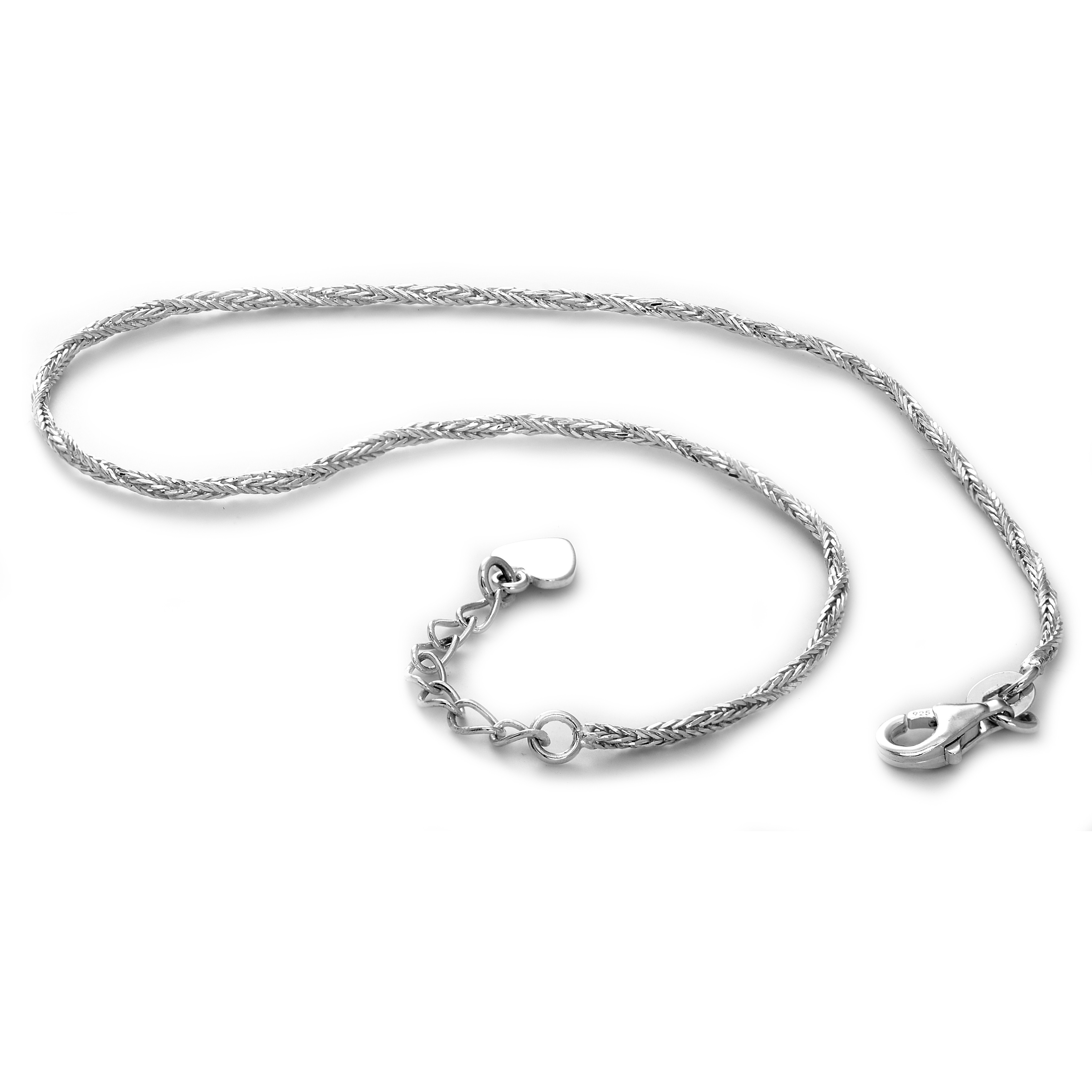 Ladies Silver Anklet / Silver