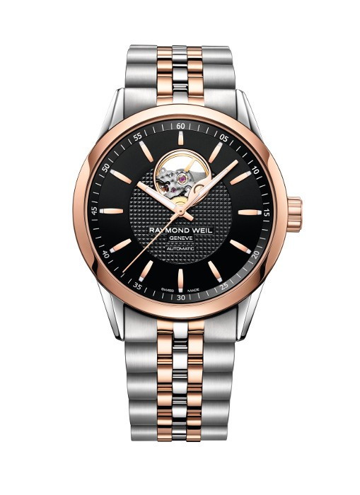 Gnts T/T Rose Blk Dial Automatic Freelancer