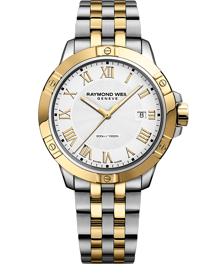 Gents Two-Tone Stainless Steel Tango