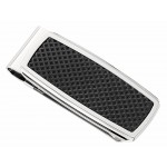 Black & Stainless Steel Money Clip