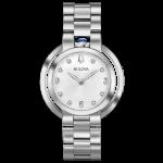 Bulova Ladies Rubaiyat Stainless Steel Watch