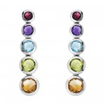 EFFY Ladies Multi-Stone Earrings
