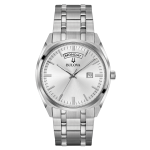 Bulova Men's Stainless Steel Quartz Watch
