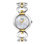 Tissot T-Lady Trend Pinky Mother-of-Pearl Two-Tone Watch