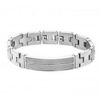 Inox Men's Stainless Steel Bracelet