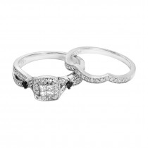 Ladies .500 Ctw Diamond Ring / 10 Kt W
