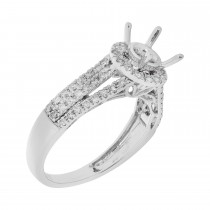 Ladies .750 Ctw Diamond Ring / 14 Kt W
