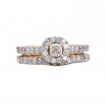 Ladies 1.000 Ctw Diamond Ring / 14 Kt Y