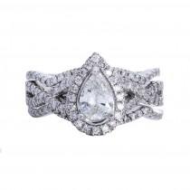 Ladies .780 Ctw Diamond Ring / 14 Kt W