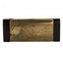 Black Stainless & Chalcopyrite Money Clip