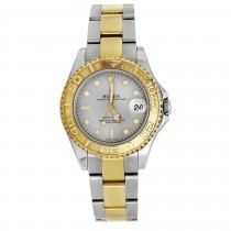 Pre- Owned Stainless & 18ky Ladies Oyster Perpetual Yacht Master