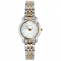 Ladies 2-Tone Rose Watch / Stainless