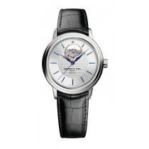 Gnts SS Black Leather Maestro Automatic
