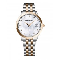 Raymond Weil Ladies Toccata Rose Two-Tone Watch