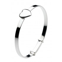 classic heart bangle