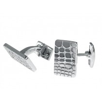 EFFY Gents Silver Cuff Links