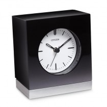 Citizen Black Square Workplace Clock