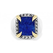 EFFY Men's Blue Lapis Ring / Silver