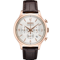 Gents Rose Gold Watch / Stainless