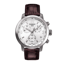 Tissot PRC 200 Chronograph Leather Watch