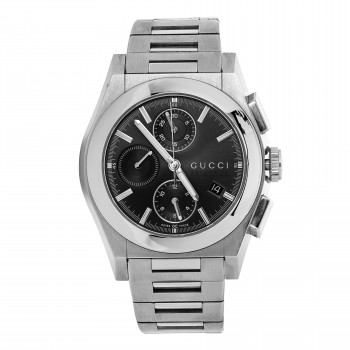 Stainless steel preowned Gucci