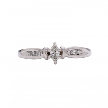 Ladies .330 Ctw Diamond Ring / Platinum