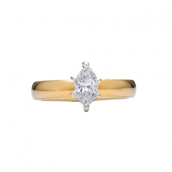 .71ct Marquise Diamond Engagement Ring