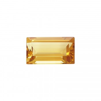 18x10 Emerald Cut Citrine