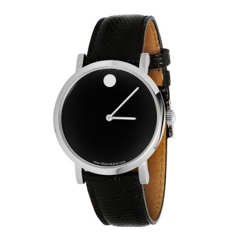Movado Men's Automatic Leather Watch