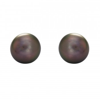 14kw 10-11mm Tahitian Pearl Studs