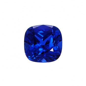 Cushion Cut 1.3ct Lab Created Sapphire
