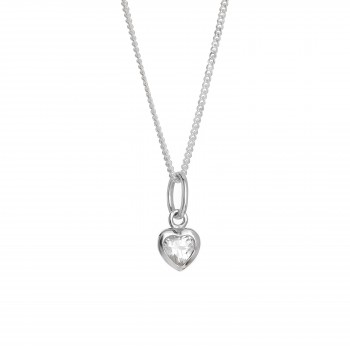 Ladies Silver Necklace / Sterling Silver