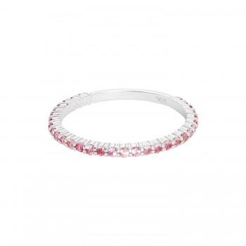 Ladies Sapphire Ring / 14 Kt W