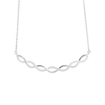 Ladies .150 Ctw Diamond Pendant / 10 Kt W