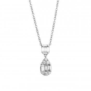 EFFY Diamond Pendant / 14 Kt W