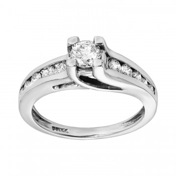 Engagement Ring Details TRELLIS RBC 0.35ct cnt 0.71tdw