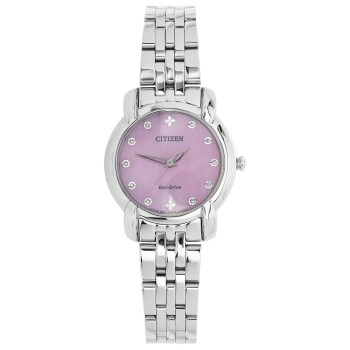 Citizen Ladies Eco-Drive Pink Dial Watch