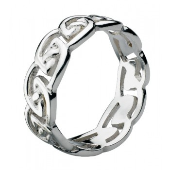 Ladies Silver Ring / Silver