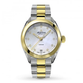 Alpina Two-Tone Comtesse Quartz Watch
