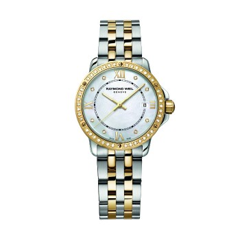 Raymond Weil Ladies Tango Two-Tone Watch