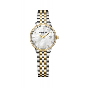 Raymond Weil Ladies Toccata Two-Tone Diamond Watch