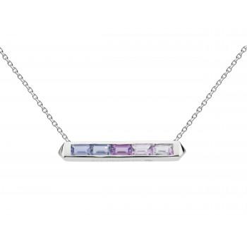 Ladies Silver Necklace / Silver