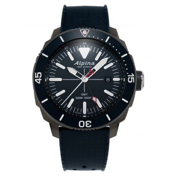 Alpina Men's Seastrong Diver GMT Watch