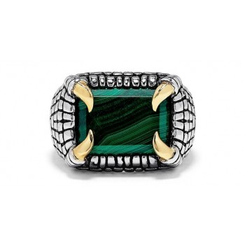 EFFY Men's Malachite Ring / Silver