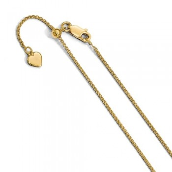 Ladies Silver Chain / Yellow plate
