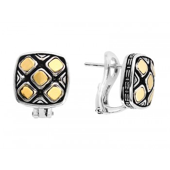 EFFY Two-Tone Sterling Silver Cuff Links